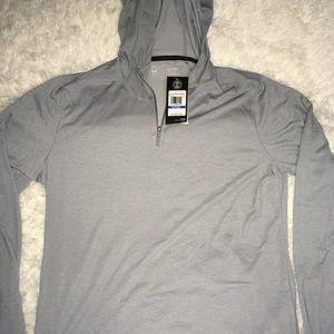 "Under Armour Silver 1/4"" ZipUp Hoodie Men's XL,XXL"